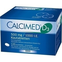 CALCIMED D3 500MG/1000 IE